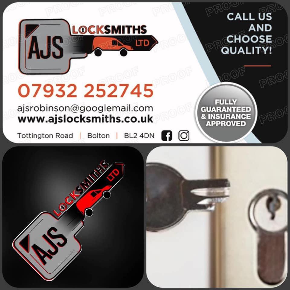 Bolton Locksmith - Business Card